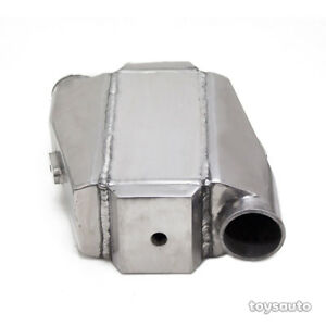 Rev9 Type 1 Universal Aluminum Air To Water Intercooler 12 x13 x4 5 3 In out