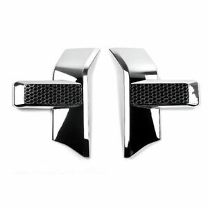 Front Bumper Headlight Grille Chrome Cover Trim For 2015 Up Ford F150 F 150