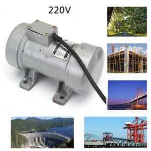 220v 2840 Rpm 300kgf Motor Table Motion Concrete Vibrator For Construction
