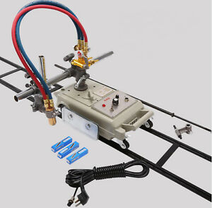 Cg1 30 Gas Cutter Cutting Machine Torch Track Burner With Acetylene Nozzle 220v