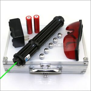 Gx3 ii Adjustable Focus 520nm Burning Handheld Green Laser Pointer Lazer Torch