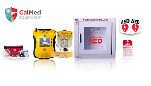 Defibtech Lifeline Aed View Value Package W Cabinet And Acc 2 Year Warranty
