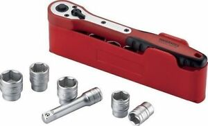 Teng Tools February Sale 3 8 Drive Ratchet Socket Set Extension Tool Set Holder