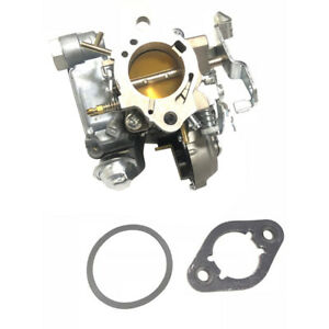 New Gm 1 Barrel Carburetor Mono Jet Electric Choke Fits 1978 79 250 Engine