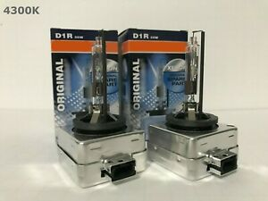 2pcs New Oem Osram Xenarc D1r 66150 66154 4300k Hid Xenon Light Bulbs Set