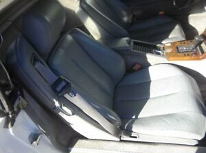 1990 Mercedes benz 300sl Front Right Passenger Seat Gray Leather Some Ware