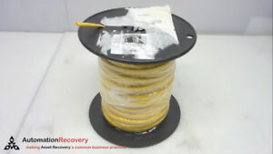 Alpha Wire Fit 221 3 16 500 Ft Shrinkable Tube Yellow 3 16 New 258066