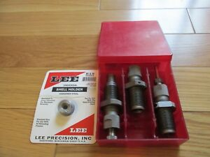 LEE 90176 9MM MAKAROV  9X18MM  3 DIE CARBIDE DIE SET WITH SHELL HOLDER!!!