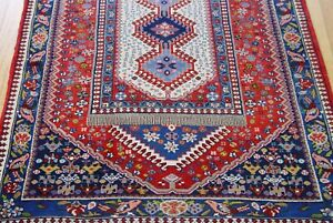 3 3 X 5 Premium Quality Tribal Yalameh Hand Knotted 100 Wool Oriental Rug
