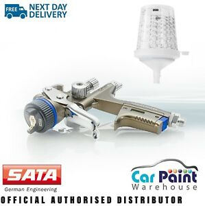 Sata Jet X 5500 Rp Digital 1 3mm Gravity Spray Gun O Nozzle Clear Lacquer