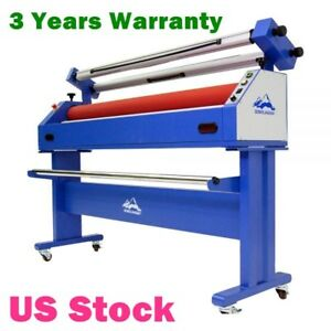 Us Stock 63 Semi auto Cold Laminating Machine Large Format Laminator