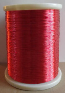 Polyurethane Enameled Copper Wire Magnet Wire 2uew 155 0 3mm Red a40j Lw