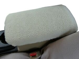 Fits Nissan Rogue 2015 2019 Faux Fur Sherpa Center Armrest Console Cover N1s
