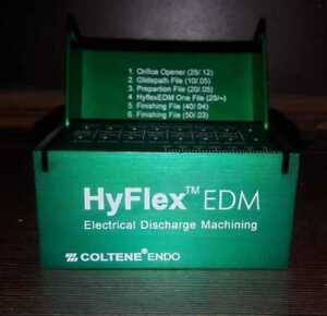 Coltene Hyflex Edm Niti Files Sequence Box
