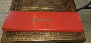 1963 Vintage Snap On Tools Box Kra 281 Box Only