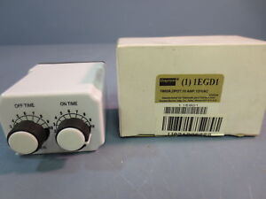 Nib Dayton 1egd1 Time Delay Relay Timer On Off Time Set