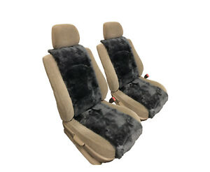 Sheepskin Car Sear Cover insert 2 Pc Set 100 Real Australian Sheepskin