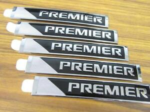 5 Lot Of Oem 2016 2018 Gm Chevy Malibu Cruze Premier Sign Emblem Decal Nameplate