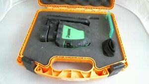 Johnson 40 6657 Self Leveling Green Brite Cross line Laser Kit