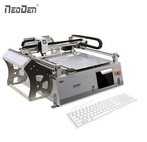 On Sale Small Pick And Place Machine Neoden3v 2 Cameras 42 Feeders 0402 Ic