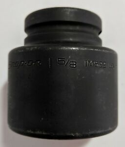 Snap On 1 5 8 Impact Socket Im522 3 4 Drive 6 Point Usa