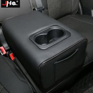 Rear Row Pillow Water Cup Holder Central Armrest Box For Ford Explorer 2011 2019