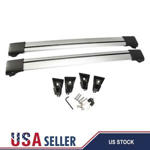 Universal 36 39 Car Top Rack Aluminum Cross Bar Roof Cargo Luggage Rack Frame