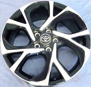 2018 Toyota C hr 18 Oe Wheels 4 Mb Oem Rims With 225 50r18 Dunlop Tires