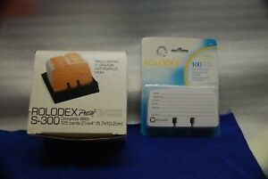 Rolodex Petite S 300 Telephone List Finder poppy Red 1 Package Of Refill Cards