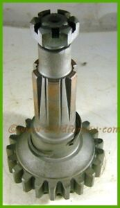 F212r John Deere G Underdrive Gear With Shaft And Nut And Snap Ring Af1224r