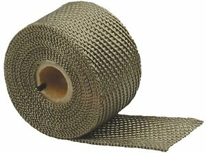 Design Engineering 010131 Titanium Exhaust Heat Wrap With Lr Technology 2 X