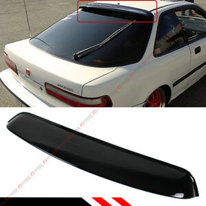 For 1990 1993 Acura Integra Jdm Smoked Tinted Rear Window Roof Visor Deflector