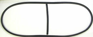 1949 1950 Plymouth Dodge Front Windshield Rubber Gasket Seal With Center Bar