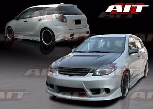 2003 2008 Toyota Matrix Trd Style Full Body Kit By Ait front rear sideskirts