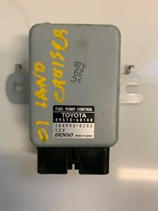 2001 Toyota Land Cruiser Fuel Pump Control 89570 60140 Oem
