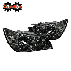 For 2001 2005 Lexus Is300 Smoked Euro Headlights Replacement Lights Altezza