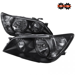 For 2001 2005 Lexus Is300 Black Euro Headlights Replacement Lights Altezza