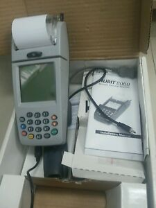 Nurit 8000 Lippman Credit Card Wireless Gsm Sim Card Machine