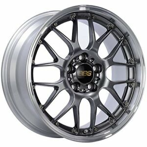 Bbs Rsgt Black Wheel 20x8 5 5x114 3mm 43 Offset