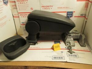 2005 2010 Chevrolet Cobalt Center Console Arm Rest Pad 2007 10 Pontiac G5 Black