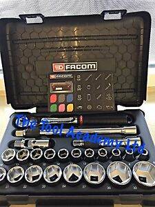 Facom New Release 1 2 Drive Socket Ratchet Tool Set New Design 8 32mm