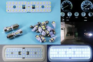 Jeep Yj Wrangler White Led Conversion Light Package Gauge Dash Interior Reverse