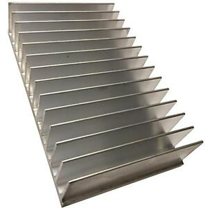 Large Transistor Heat Sink Aluminium To220 To247 To3 To3p 100x165 5x35mm