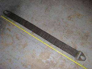 Cambridge Gripper G35 Metal Mesh Heavy Duty Lifting Sling Strap 84 Inch Oal