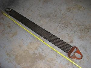 Metal Mesh Lifting Sling Heavy Duty Cambridge Gripper G 35 Strap 74 Inch Oal
