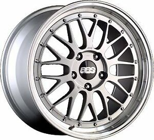 Bbs Lm 19in Rim Silver 19x11x5x130 63mm Offset