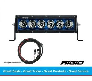 Rigid Industries Radiance Series 10 Inch Led Light Bar With Blue Back light