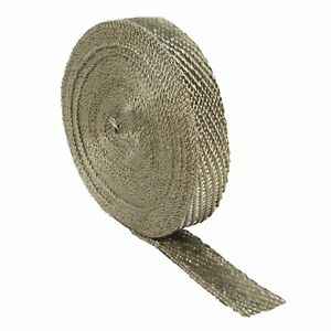 Design Engineering 010126 Titanium Exhaust Heat Wrap With Lr Technology 1 X