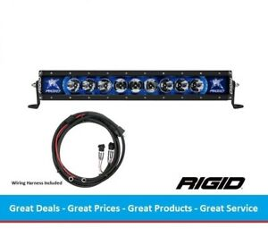 Rigid Industries Radiance Series 20 Inch Led Light Bar With Blue Back Light