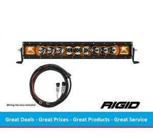 Rigid Industries Radiance Series 20 Inch Led Light Bar With Amber Back light